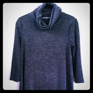 Embrace Los Angeles Turtleneck Sweater Dress